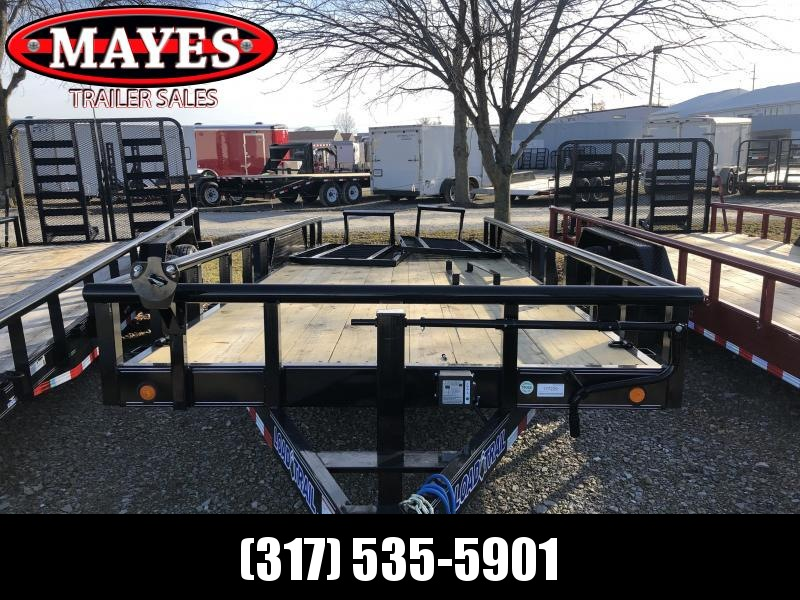 2019 83x20 (18+2) Load Trail CS8320072 Car / Racing Trailer - 5' HD Split Fold Gate (GVW:  14000)