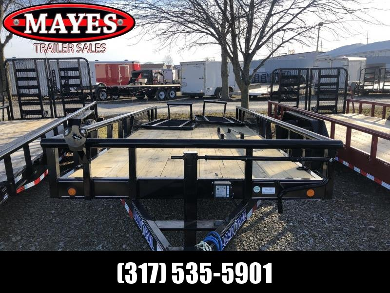 2019 83x20 (18+2) Load Trail CS8320072 Trailer - 5' HD Split Fold Gate (GVW:  14000)