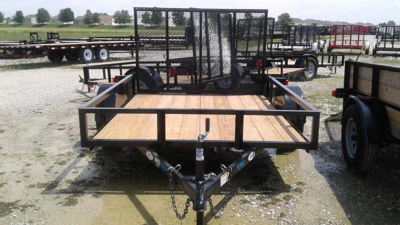 2019 76x8 SA American Manufacturing Operations (AMO) US081 Utility Trailer - Tailgate (GVW:  2990)