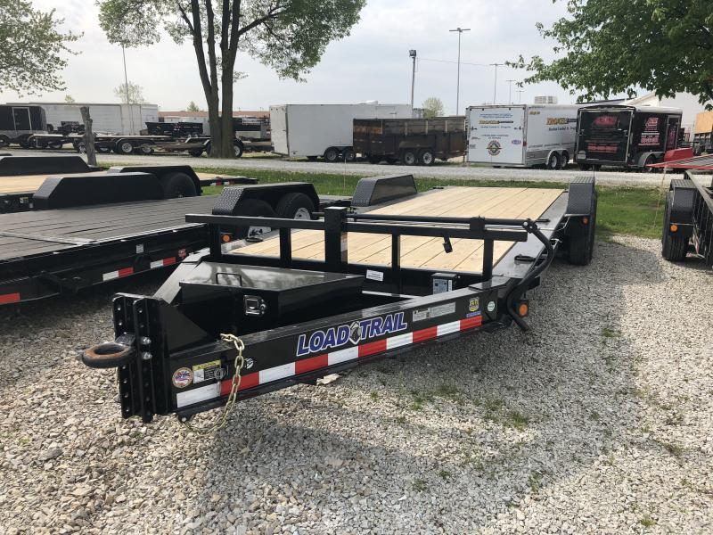 2018 83x22(16' Tilt + 6' Stationary) Load Trail TD22 Flatbed Tilt-N-Go Trailer - (GVW: 14000)