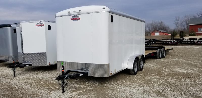 2019 7x14 Cargo Mate BL714TA2 Enclosed Trailer - Ramp Door - Torsion (GVW:  7000)