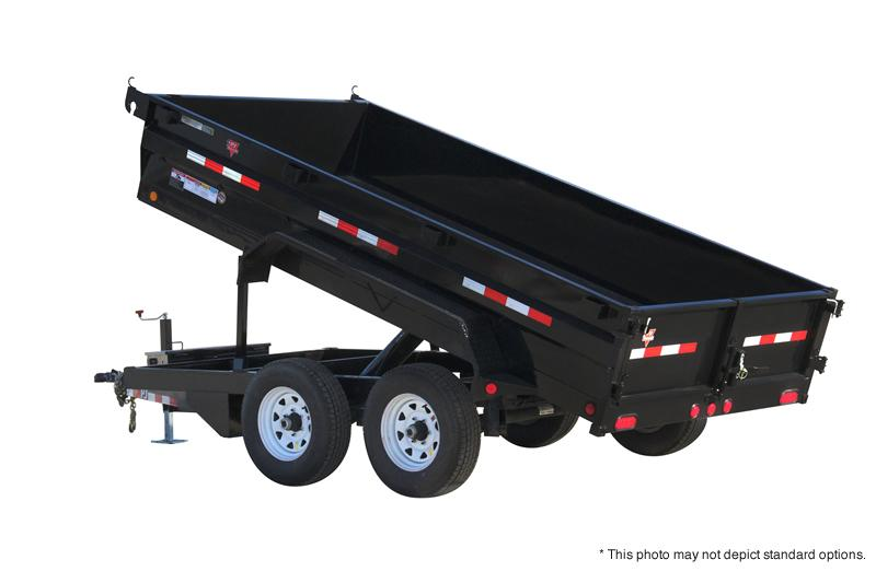 """2019 72x12 Tandem Axle Dump PJ Trailers 12' x 72"""" Tandem Axle Dump Trailer - Tarp Kit (GVW:  9899)"""