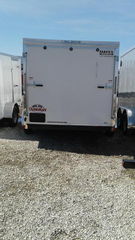 2019 7x14 Cargo Mate EHW714TA2 Enclosed Cargo Trailer - Ramp Door (GVW:  7000)