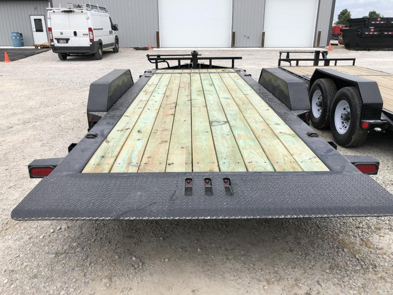 2019 83x18 (2+16) Load Trail TH8318072 Equipment Trailer - Tilt-N-Go - D-Rings - Tool Tray (GVW:  14000)