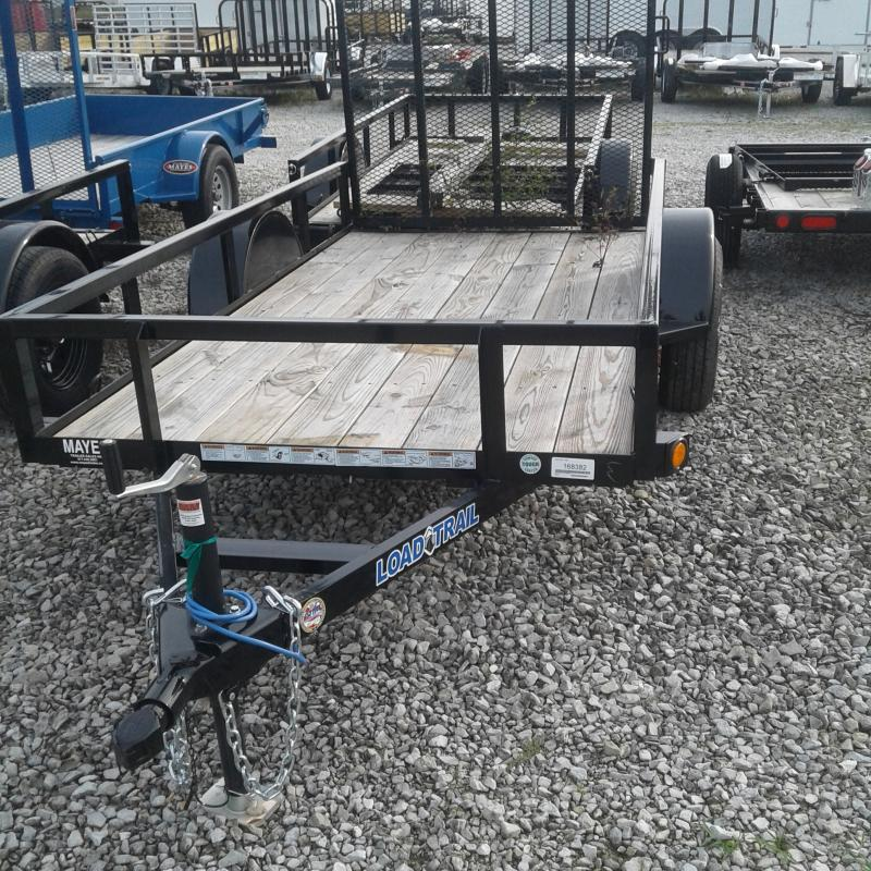 2018 5x10 Load Trail SA101 Single Axle Utility Trailer - w/ 4' Fold-up Gate (GVW: 2995)