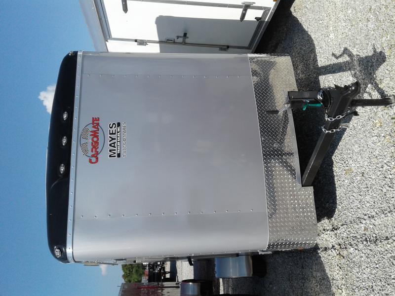 "2019 6x12 Cargo Mate BL612SA Enclosed Cargo Trailer - Diamond Ice (RD)(GVW: 2990)(6"" Extra Height)"