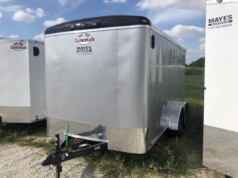 2020 7x14 TA Cargo Mate BL714TA2 Enclosed Cargo Trailer - Ramp Door - Torsion (GVW:  7000)