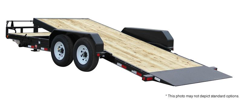 "2020 22' (6+16) Tilt PJ Trailers 22'x6"" Channel Equipment Tilt Trailer - Spare Tire MOUNT ONLY (GVW:  14000)"