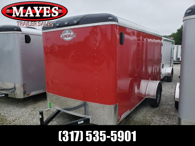 2020 6x12 SA Cargo Mate BL612SA Enclosed Cargo Trailer - Double Door - Torsion (GVW:  2990)