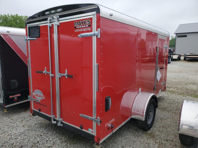 2020 6x12 SA Cargo Mate BL612SA Enclosed Cargo Trailer - Double Door - Torsion (GVW:  2990)
