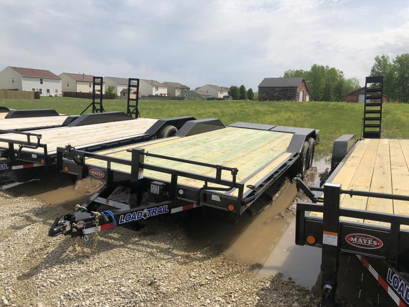 2019 102x22(20+2' Dovetail) Load Trail Equipment Hauler w/ Max Ramps (GVW: 14000) *Drive-over Fenders*
