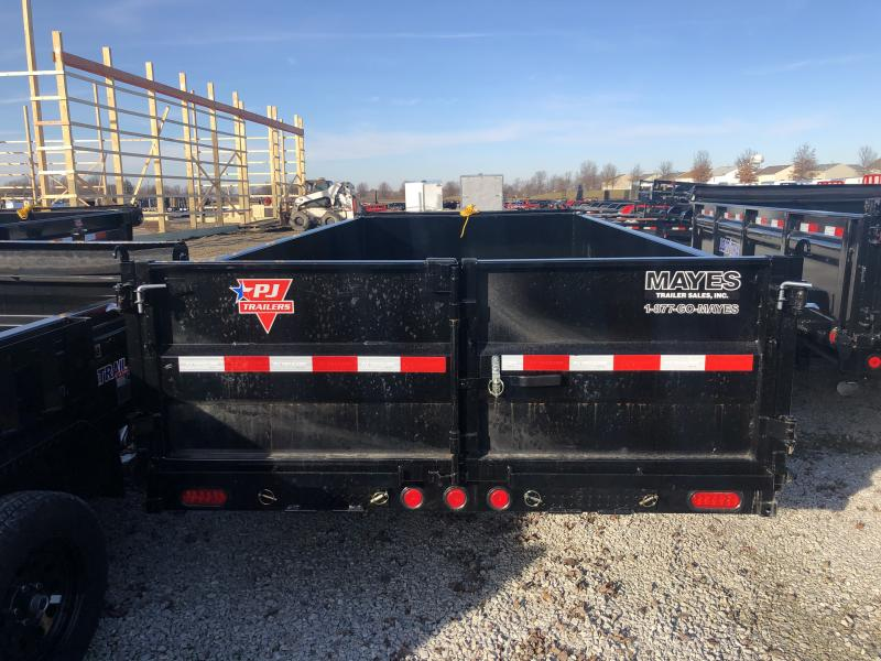 "2019 PJ Trailers 16' x 83"" Low Pro Dump Trailer - Tarp Kit (GVW:  14000)"