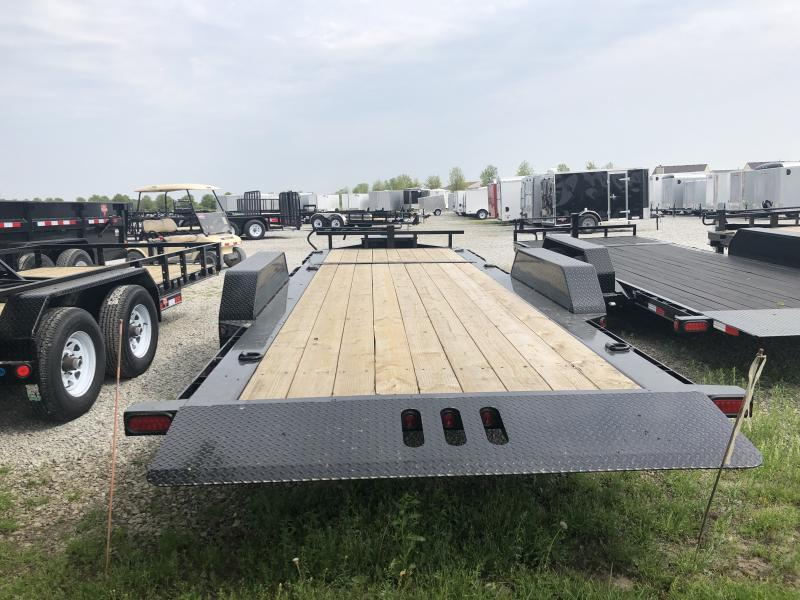 2018 83x22(16' Tilt + 6' Stationary) Load Trail TD22 Flatbed Tilt-N-Go Trailer - (GVW: 14000)