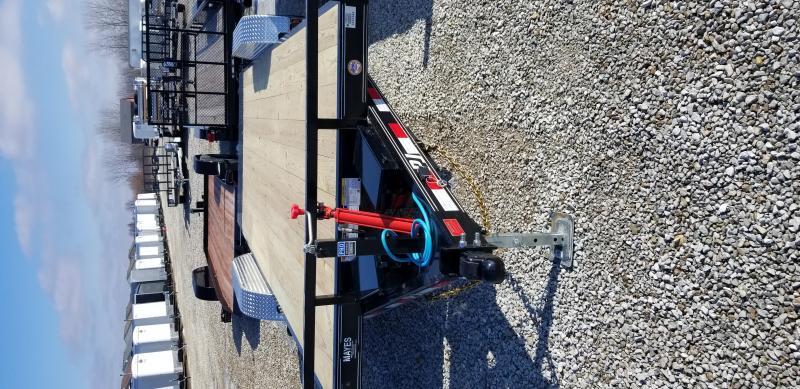 2019 83x20 Hydraulic Quick Tilt PJ Trailers TH202 Equipment Trailer - Tilt Deck (GVW:  9899)