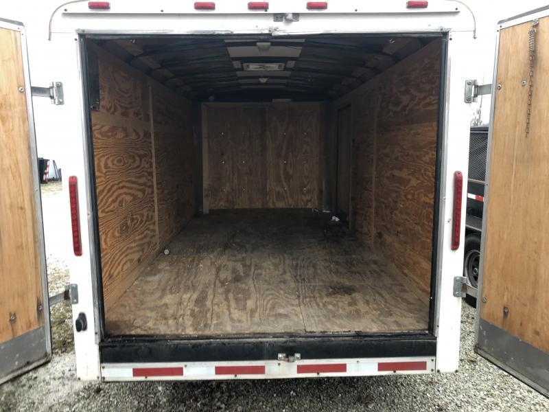 2008 Used 7x14 US Cargo 7X14 Enclosed Cargo Trailer - Double Door (GVW:  12000)