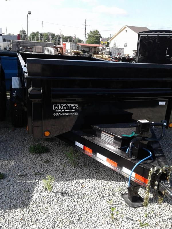 2019 83x14 Load Trail DT14 Dump Trailer - (Split/Spreader Gate)(Tarp Kit)(GVW: 14000)