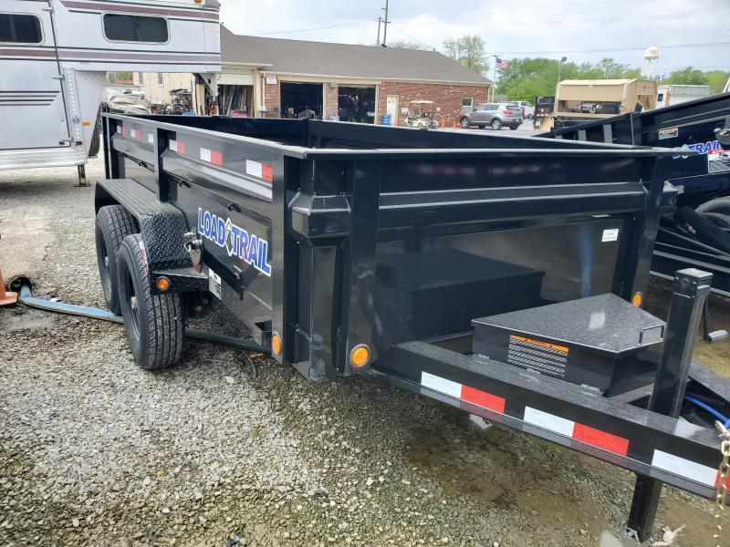 2019 72x12 TA Load Trail DT7212072 Dump Trailer - 3-Way Gate - Ramps - Scissor Hoist (GVW:  14000)
