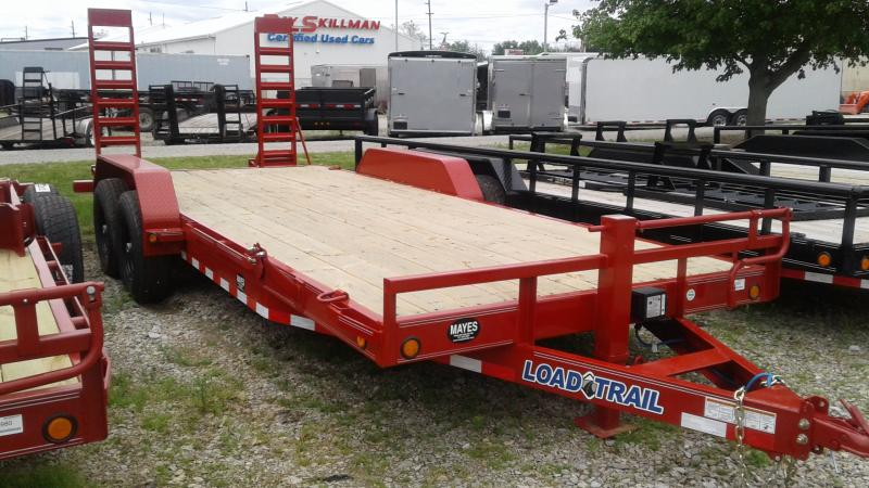 2019 83X20 Red fold up ramps