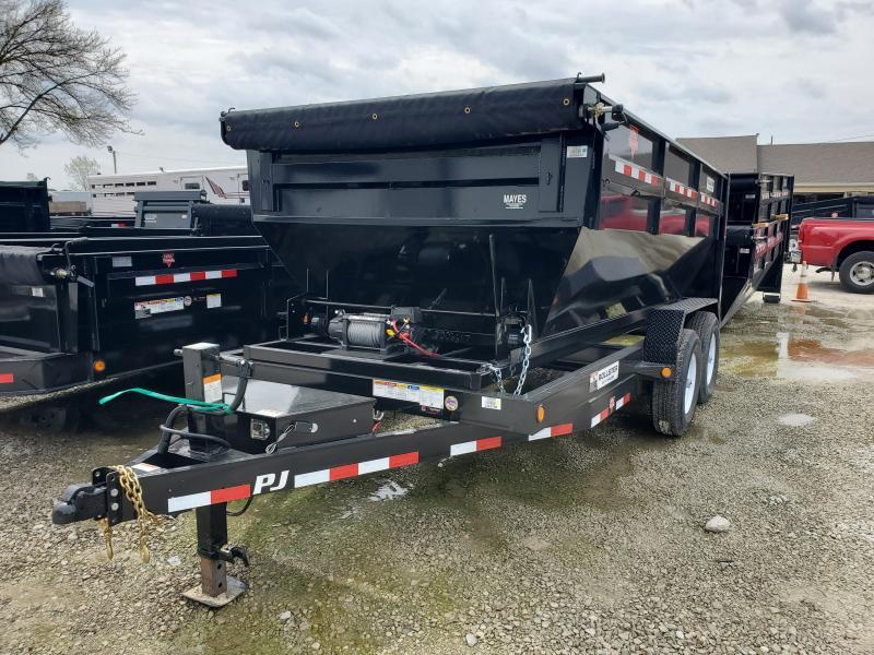 2020 83x14 TA PJ Trailers 14' Rollster Roll Off Dump Trailer (GVW:  14000)