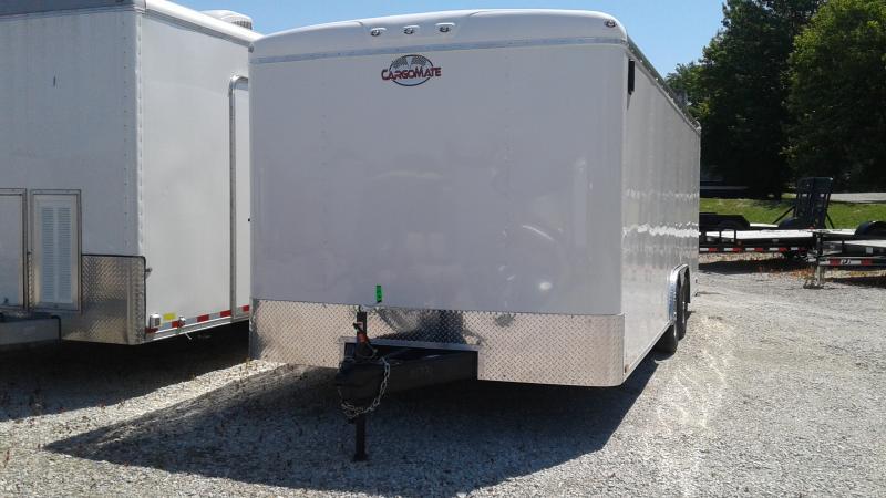 2020 102x20 TA Cargo Mate BL820TA2 Enclosed Cargo Trailer - Ramp Door - Torsion (GVW:  7000)