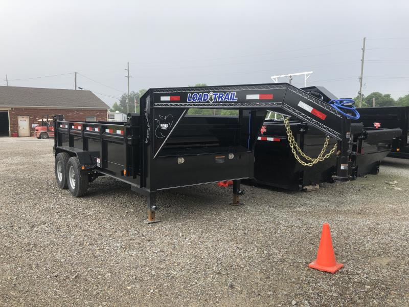 2019 83x14 TA Gooseneck Dump Load Trail - 3-Way Gate - Tarp Kit (GVW:  14000)