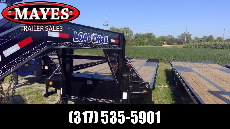 2020 102x32 (22+10) Load Trail GL0232102 Equipment Trailer - Hydraulic Dovetail - Tool Box - Winch Plate - Max Steps (GVW:  24000)