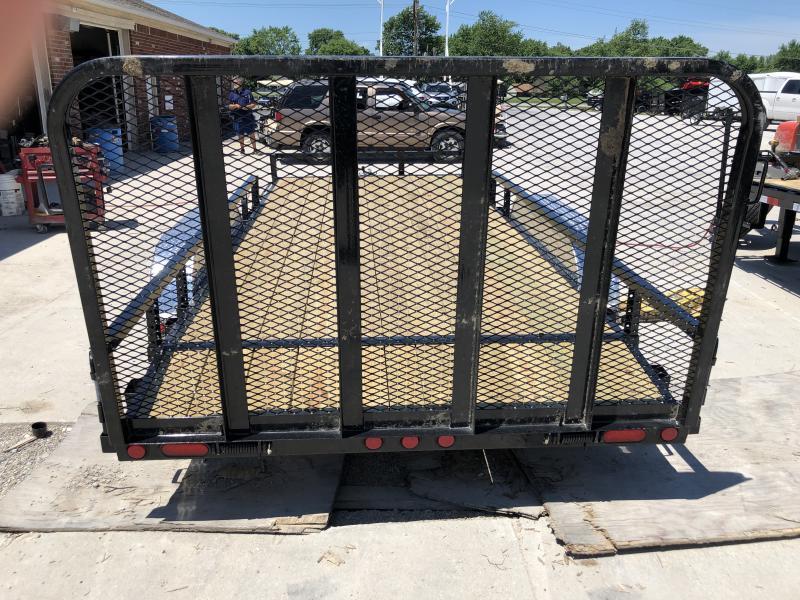 2020 83x18(16+2' Dovetail) PJ Trailers UL Utility Trailer - w/ 4' Fold-up Gate (GVW: 7000)(ATV Ramps)