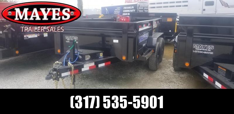 2019 72x12 TA Load Trail DT7212072 Dump Trailer - 3-Way Gate - Ramps - Scissor Hoist