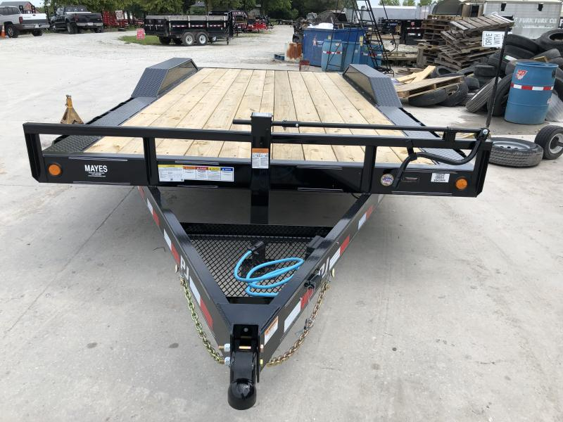 2020 18 Foot (16+2) TA  PJ Trailers B6182 Equipment Trailer - Dovetail - 6