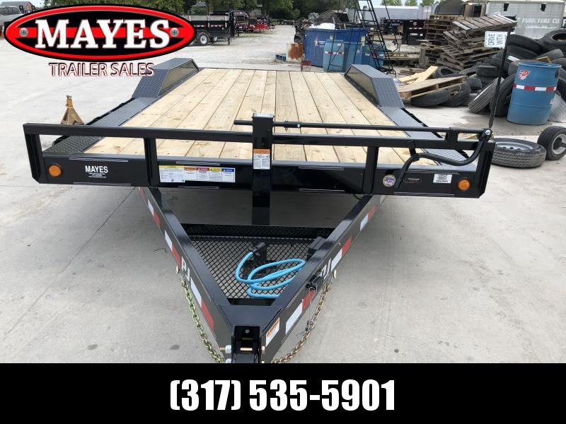 2020 102x18 Foot (16+2) TA  PJ Trailers B6182 Equipment Trailer - Dovetail - 6