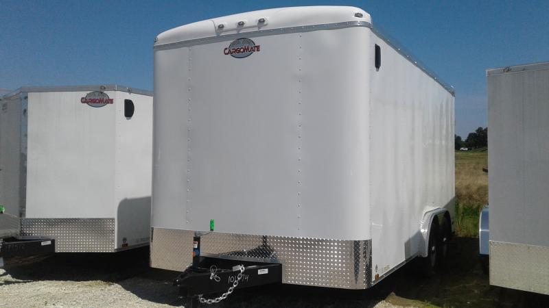 2020 8x16 TA Cargo Mate BL816TA3 Enclosed Cargo Trailer - Ramp Door - Torsion - 12