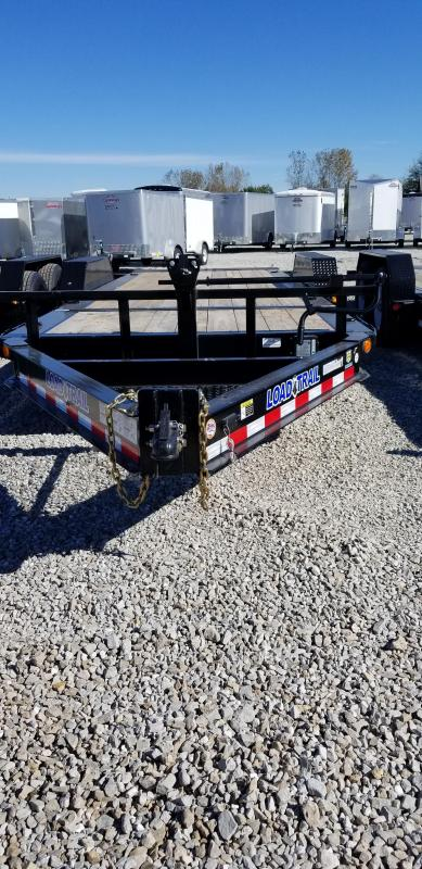2019 83x20(4' Stationary + 16' Tilt) Load Trail TD20 Tilt-n-go Tandem Axle Equipment Trailer - (GVW: 14000)