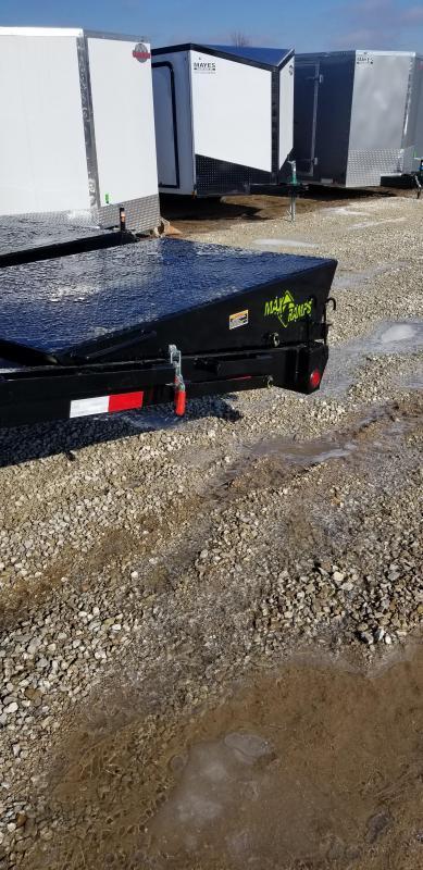 2019 102x28 (23+5) Load Trail GP0228102 Equipment Trailer - Self Clean DT - Black Wheels (GVW:  22000)