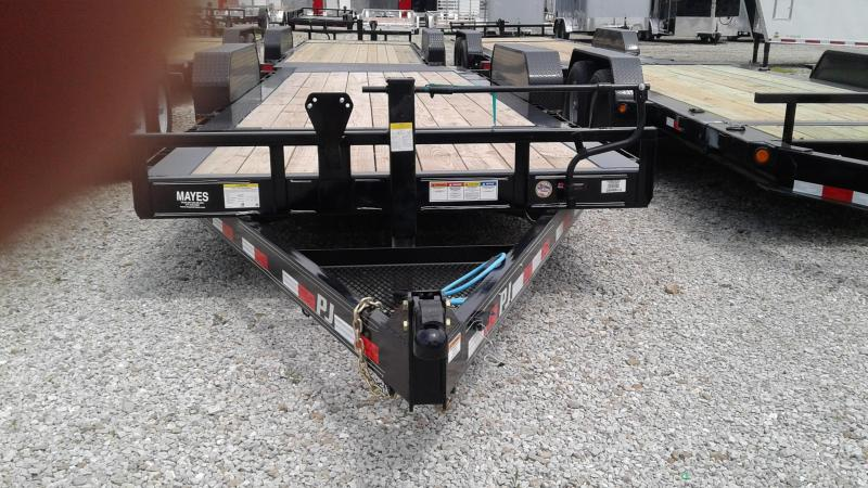 "2020 20' (4+16) TA PJ Trailers 20' HD Equipment Tilt 6"" Channel Trailer - Torsion - Oil Bath Axles (GVW:  16000)"