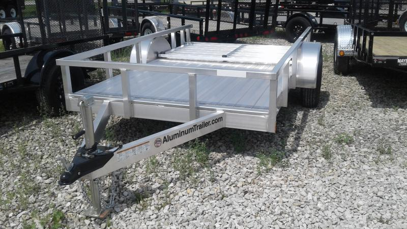 2019 6x10 ATC OUTAB6010 Utility Trailer - Rear Gate - Alum. Floor (GVW:  2990)