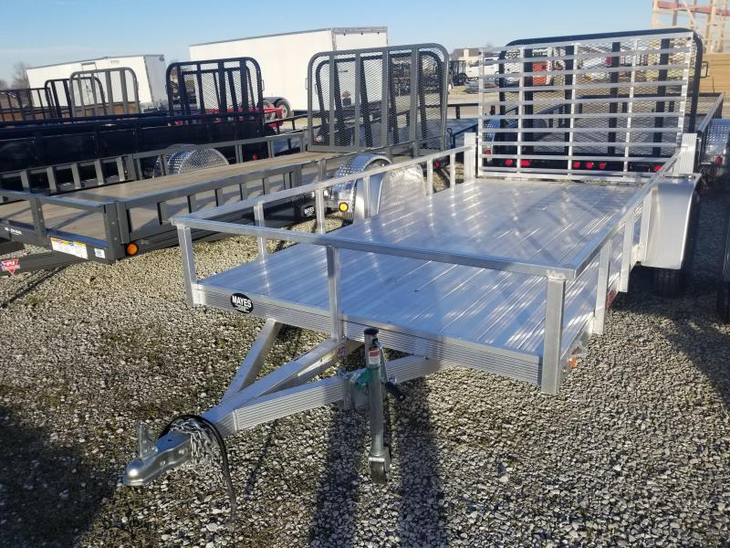 2018 6x12 Sport Haven AUT612D Utility Trailer DLX - w/ 4' Fold-up Gate (GVW: 2990)