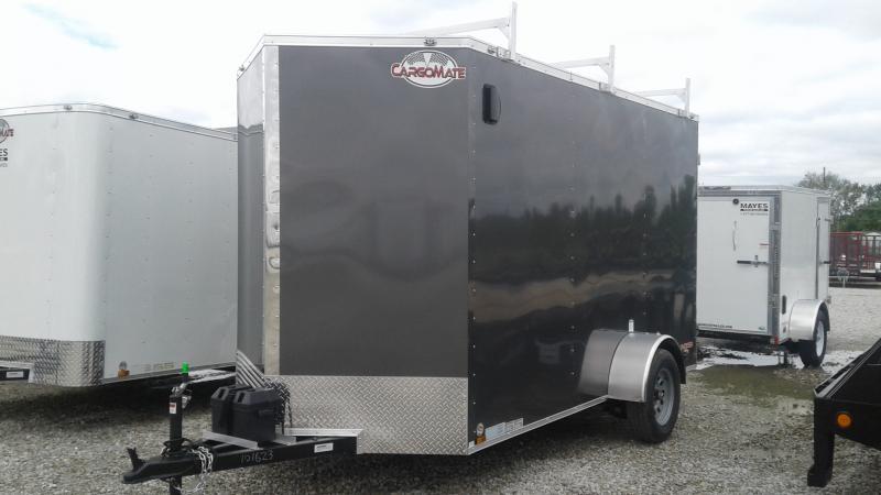 2020 6x12 SA Cargo Mate EHW612SA Enclosed Cargo Trailer - Double Door - 12