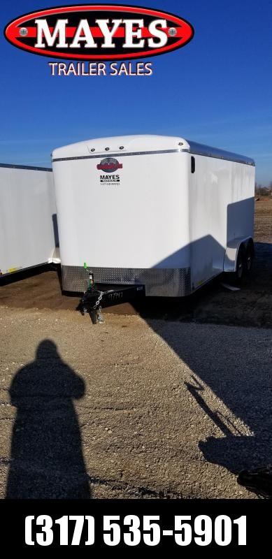 2019 7x16 Cargo Mate BL716TA3 Enclosed Cargo Trailer - Ramp Door (GVW:  9800)