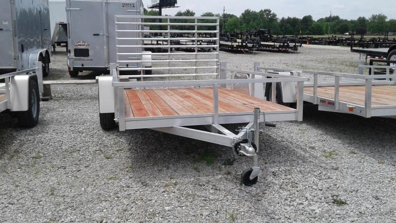 2018 6x10 Sport Haven AUT610 Utility Trailer w/ 4' Fold-up Gate (GVW: 2990)