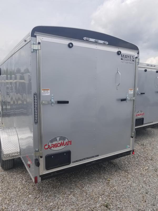 2019 6x12 Cargo Mate BL612SA Enclosed Cargo Trailer - Diamond Ice (RD)(GVW: 2990)