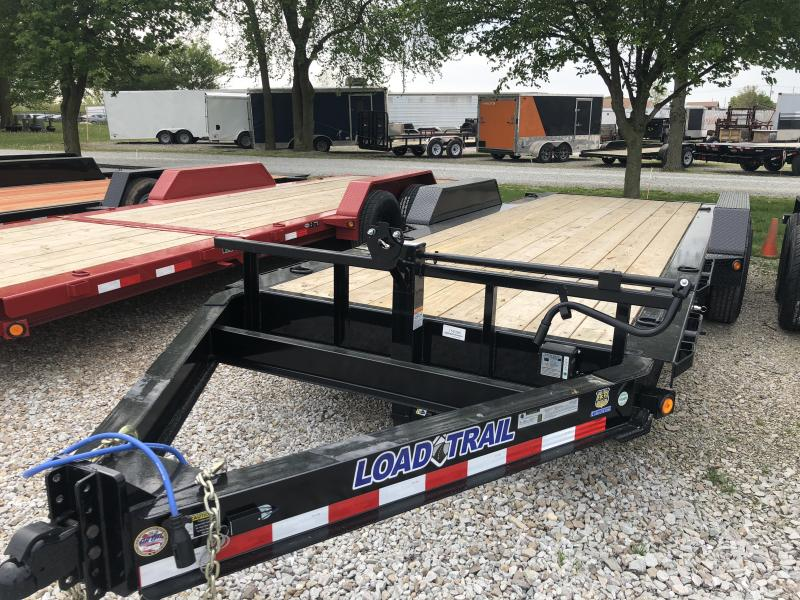 2018 83x20(16' Tilt + 4' Stationary) Load Trail TD Equipment Trailer - (GVW: 14000)