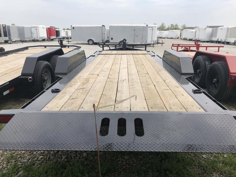 2018 83x20(16' Tilt + 4' Stationary) Load Trail TD Equipment Trailer - (GVW: 14000)