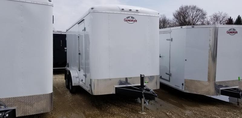2020 7x14 Cargo Mate BL714TA2 Enclosed Cargo Trailer - Ramp Door - 6
