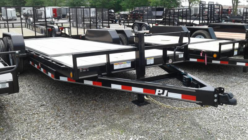2020 PJ Trailers T6202 Equipment Trailer