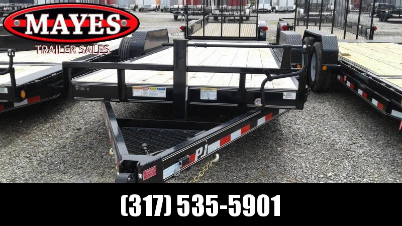 2020 83x20 PJ Trailers T6202 Equipment Trailer