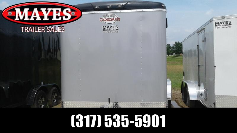 "2020 7x18 TA Cargo Mate BL718TA3 Enclosed Cargo Trailer - Ramp Door - 6"" Additional Height (GVW:  9800)"