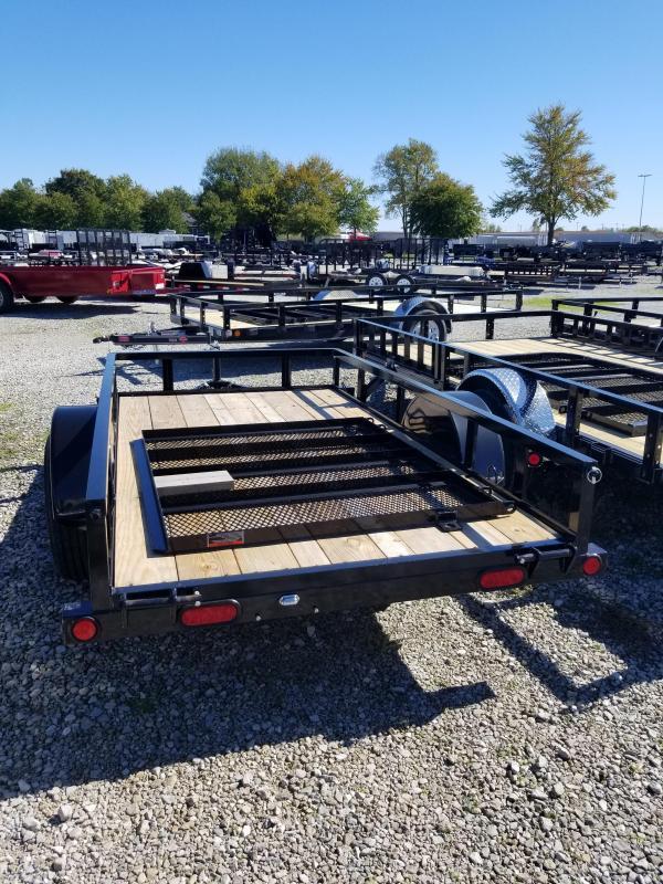 2017 5x10 Load Trail SE60 Utility Trailer - w/ 4' Fold-up Gate (GVW: 3000)