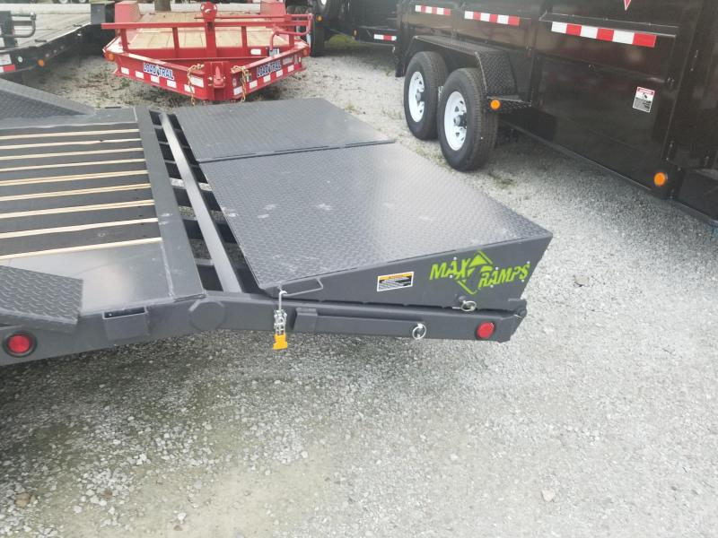 2019 102x24(20.5'+3.5' Dovetail) Load Trail CH24 Tandem Axle Car / Racing Trailer - w/ Maxb  b       Ramps (GVW: 20000) *Driver-over Fenders*