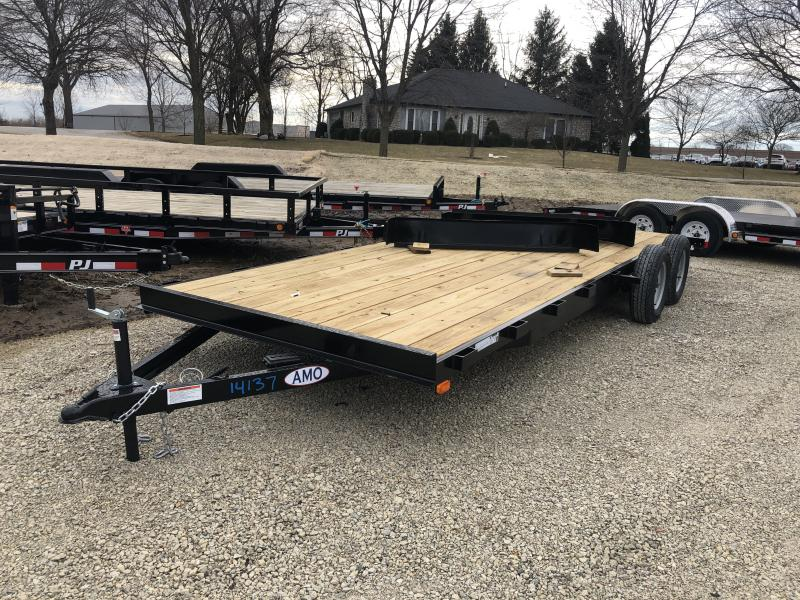 2019 82X20 (18+2) American Manufacturing Operations (AMO) UT202 Utility Trailer - Slide In Ramps (GVW:  7000) in Ashburn, VA