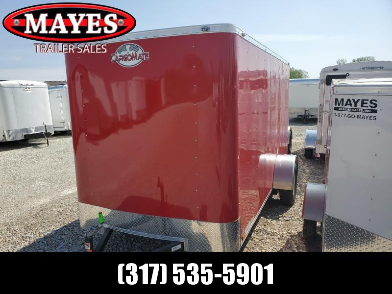 2020 6x12 SACargo Mate SS612SA Enclosed Cargo Trailer - Ramp Door - 6
